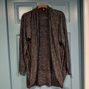 Black and grey Rue21 sweater
